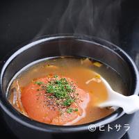 大文字 - 和風出汁とトマトの甘みが美味しい「トマトおでん」