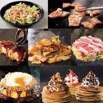 道とん堀 - 料理写真:ガチ盛りコース