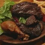 65319026 - 肉屋のステーキプレート