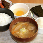 満天食堂 - 豚汁定食