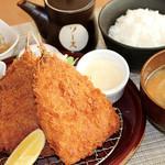 満天食堂 - 自家製タルタルソースで食べるサクサクあじフライ定食