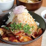 満天食堂 - 豚ロース生姜焼き定食
