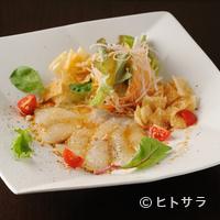 チャイナバル BIGUP! - 本日のお刺身サラダBIGUP!スタイル