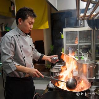 中華一筋15年、オーナーシェフによる本物の中華料理