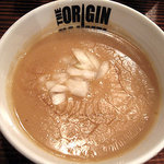 らあめん 元 - 濃厚鶏ポタつけ麺