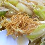 長崎亭 - 皿うどんのパリッとした麺