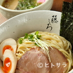 麺屋 藤しろ - 濃厚鶏白湯味玉つけ麺