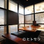 高田屋 - 掘りごたつ式の個室