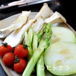 牛屋 ヒコベー - みずみずしく新鮮な野菜
