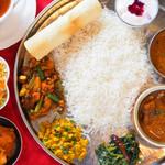 インドレストラン・bar チチル&シシリ - 料理写真:ネパールの家庭料理の代名詞、ダルバート