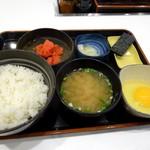吉野家 - 朝定食「辛子明太子定食」