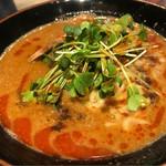 横浜家系らーめん英 - 担々麺。