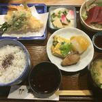 竹梅 - ランチの「定食」