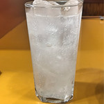 天ぷら 筧 - レモンサワー