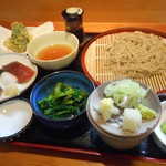蕎麦と寿司のおおしま - 料理写真:平日限定そばランチ