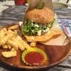 氾濫バーガー チムフガス - 料理写真:チーズバーガー(ポテトセット)