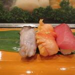 菊水寿司 - 料理写真:生トリ貝・赤貝