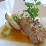 リストランテ フォレスタ・ヴェルデ - メインは豚肉のロースト