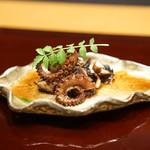 平花とんぼ - 明石蛸の桜煮