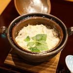 平花とんぼ - 霞ヶ浦産白魚の小鍋