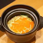 平花とんぼ - いくらの炊き込みご飯