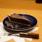 平花とんぼ - チョコレートケーキ