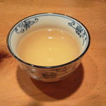 さらしなの里 - 出てくるお茶も蕎麦茶です