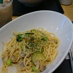 タリーズコーヒー - 料理写真:緑の野菜のボンゴレビアンコ ~ローズマリー仕立て~