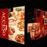 アチェーゾ - ACCESO看板