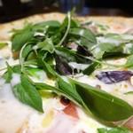 トラットリア・モキチ - ヴルスト特製ロースハムと筍のクリームソース