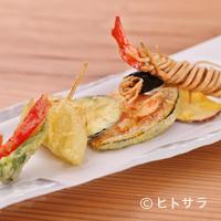 蕎麦正 まつい - 大将オリジナルの独創的な一品『そばやならではの天ぷら』