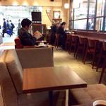 上島珈琲店 - 店内風景(禁煙エリア)。