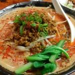 東京担々麺  ゴマ哲 - ゴマ哲と言うだけあり、芝麻醤が効いてます。