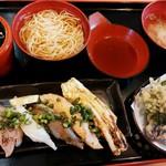 65346421 - 炙り寿司セット 780円+税 2017/04