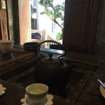 Jioufen Teahouse - 落ち着いた店内