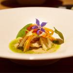 Point - 貝のナ―ジュ サフラン風味