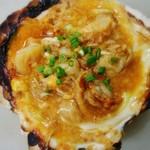 目黒のさんま 菜の花 - 貝焼き味噌焼き