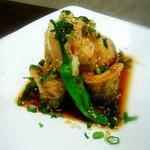 目黒のさんま 菜の花 - さんまのおろしポン酢