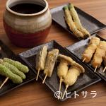 かんぱいや Sh∅uten - 料理写真:『串揚げ各種』は、もう一つのお楽しみ「当たりくじ付き」