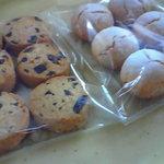 omame - チョコチップとオマメクッキー