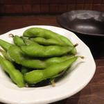 炭焼家金鳥 - 枝豆