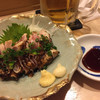 籠ノ島 - 料理写真:さつま赤鶏あぶり刺し