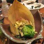 牡蠣と魚 海宝 - 浅利と筍のぬた