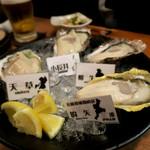 牡蠣と魚 海宝 - アラカルト牡蠣