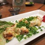 牡蠣と魚 海宝 - 鶏ささみチーズ焼き