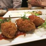 牡蠣と魚 海宝 - 蟹クリームコロッケ
