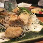 牡蠣と魚 海宝 - 鰹竜田揚げ