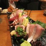 牡蠣と魚 海宝 - 刺し盛り