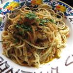 65352378 - シチリア伝統 イワシとウイキョウ スパゲッティ ¥1100-