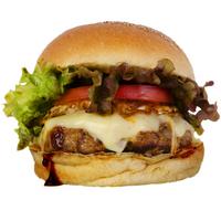 ハンバーガーショップ カオス - 店長のおすすめ。一番人気の『イングランドバーガー』